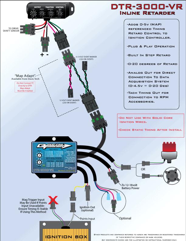 dtr 3000 inline retarder davis technologies rh moretraction com Stock Car Racing Wiring Diagrams Traction Control System Repair