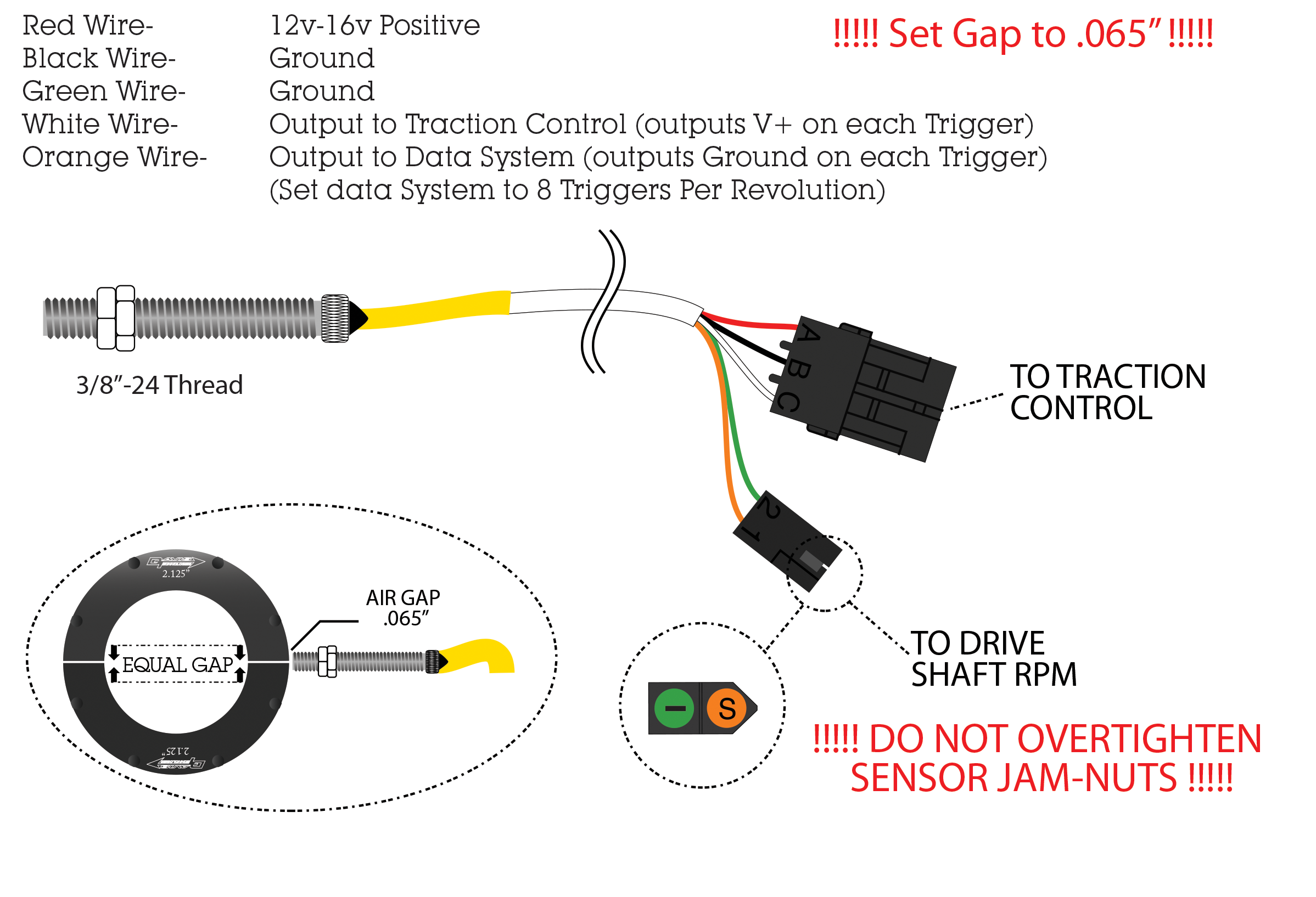 sensor racepak davis technologies rh moretraction com Racing Traction Control Devices Traction Control System Repair
